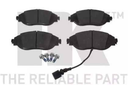 Комплект тормозных колодок, дисковый тормоз 2247111 NK