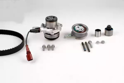 Водяной насос + комплект зубчатого ремня PK06690 HEPU