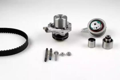 Водяной насос + комплект зубчатого ремня PK06690M HEPU