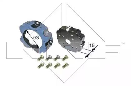 Катушка, электромагнитное сцепление - копрессор 38473 NRF