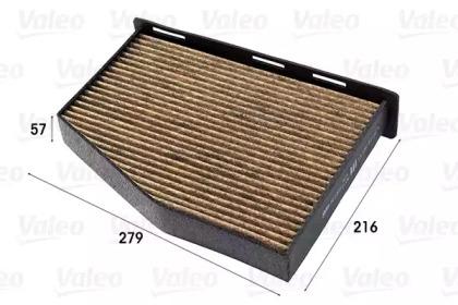 Фильтр, воздух во внутренном пространстве 701001 VALEO