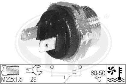 Термовыключатель, вентилятор радиатора 330173 ERA