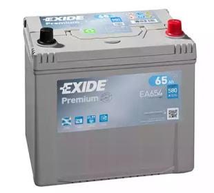 Стартерная аккумуляторная батарея EA654 EXIDE