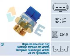 Термовыключатель, вентилятор радиатора 37920 FAE