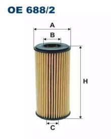 Масляный фильтр OE688/2 FILTRON