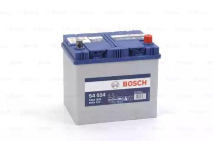 Стартерная аккумуляторная батарея 0 092 S40 240 BOSCH