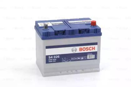 Стартерная аккумуляторная батарея 0 092 S40 260 BOSCH