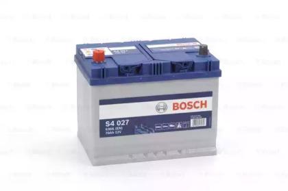 Стартерная аккумуляторная батарея 0 092 S40 270 BOSCH