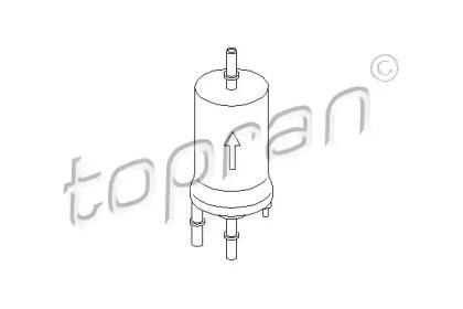 Топливный фильтр 110 898 TOPRAN