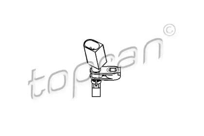 Датчик, частота вращения колеса 110 609 TOPRAN