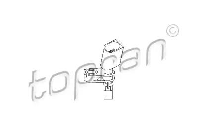 Датчик, частота вращения колеса 110 608 TOPRAN