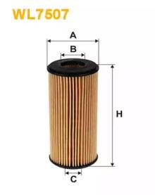 Масляный фильтр WL7507 WIX FILTERS