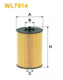Масляный фильтр WL7514 WIX FILTERS