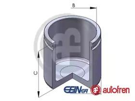 Поршень, корпус скобы тормоза D02569 AUTOFREN SEINSA