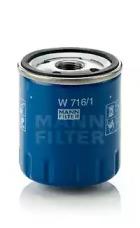 Масляный фильтр W 716/1 MANN-FILTER