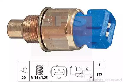 Датчик, температура охлаждающей жидкости 1.830.552 EPS